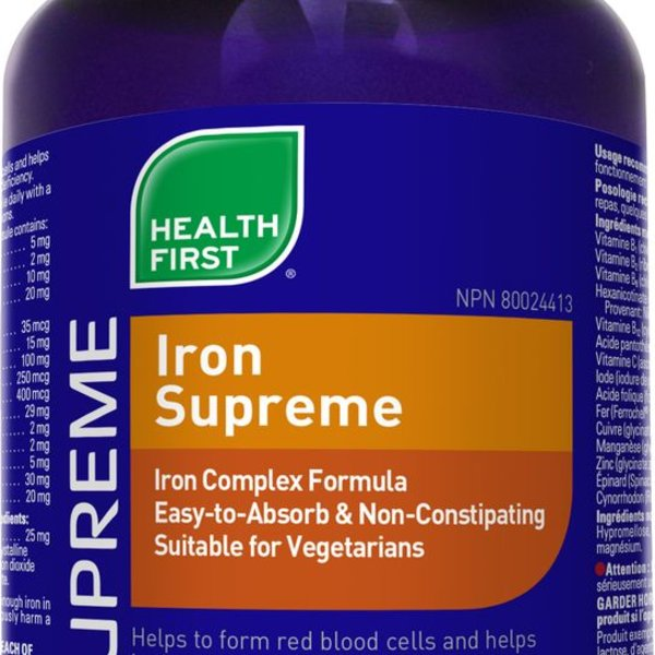 Health First Health First Iron Supreme 60 caps