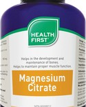 Health First Health First Magnesium Citrate 150 mg 180 caps