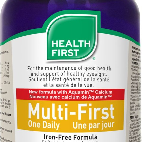 Health First Health First Multi-First One Daily Iron Free 100 caps