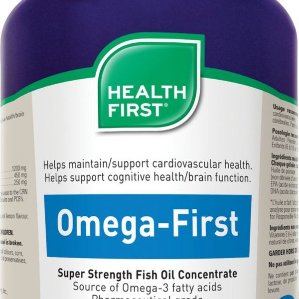 Health First Health First Omega- First Super Strength Fish Oil 120 caps