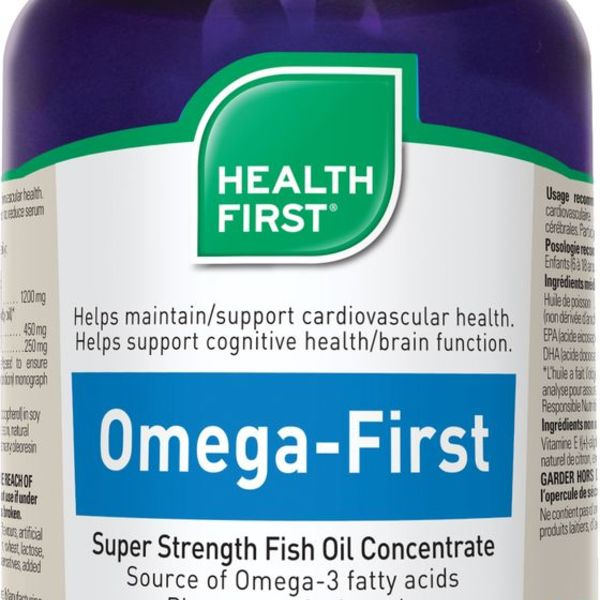 Health First Health First Omega- First Super Strength Fish OIl 60 caps