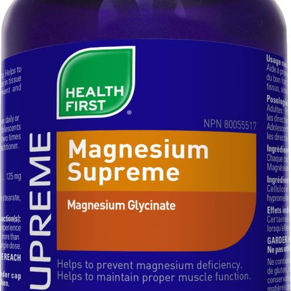 Health First Health First Magnesium Supreme 125 mg 90 caps