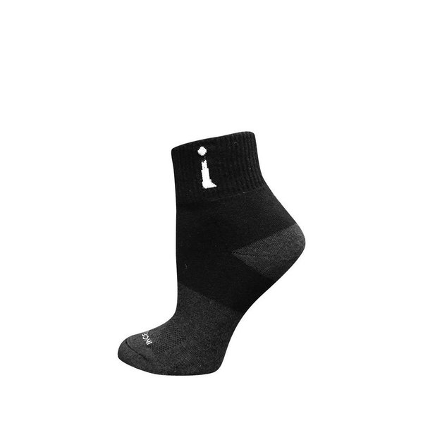 Incrediwear Incrediwear Active Socks Quarter Black L