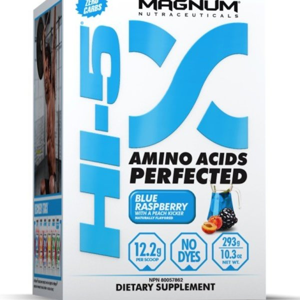Magnum Nutraceuticals Magnum Hi-5 Blue Rasp with Peach Kicker 279g