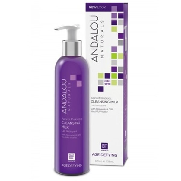 Andalou Naturals Andalou Age Defying Apricot Probiotic Cleansing Milk 178ml