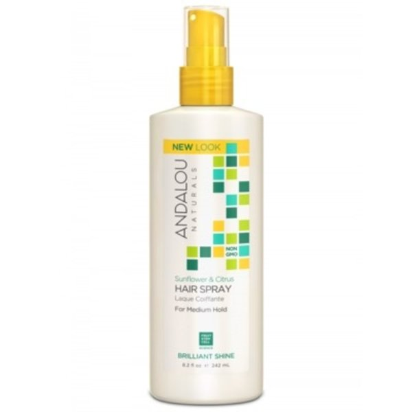 Andalou Naturals Andalou Sunflower Citrus Medium Hold Hair Spray 242ml