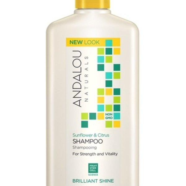 Andalou Naturals Andalou Sunflower Citrus Shine Shampoo 340ml