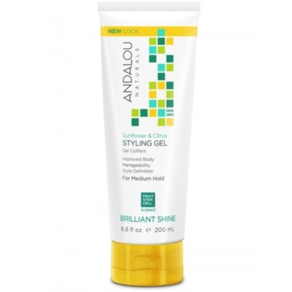 Andalou Naturals Andalou Sunflower Citrus Shine Styling Gel 200ml