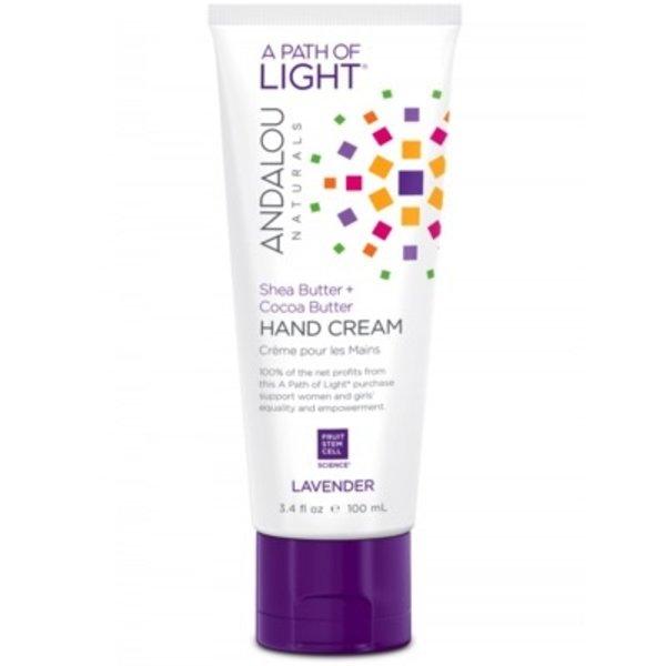 Andalou Naturals Andalou Hand Cream Lavender Shea + Cocoa Butter 100ml