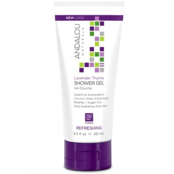 Andalou Naturals Andalou Shower Gel Refreshing Lavender Thyme 251ml