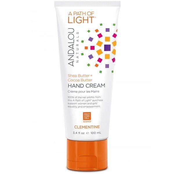 Andalou Naturals Andalou Hand Cream Clementine Shea Butter + Sea Buckthorn 100ml