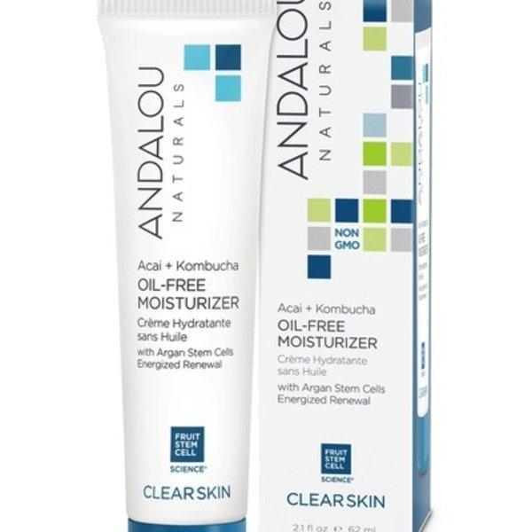 Andalou Naturals Andalou Clear Skin Acai + Kombucha Oil-Free Moisturizer 62ml