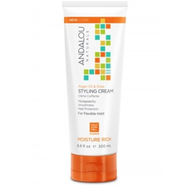 Andalou Naturals Andalou Argan Oil & Shea Styling Cream 200ml