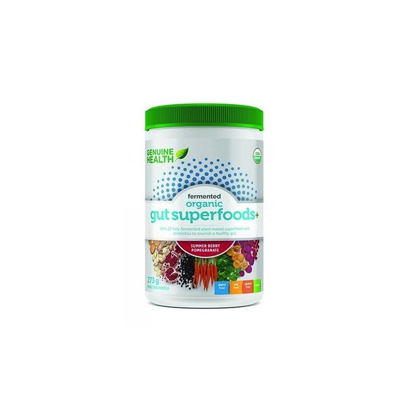 Genuine Health Genuine Health Fermented Organic Gut Superfoods Summer Berry-Pomegrante 273g