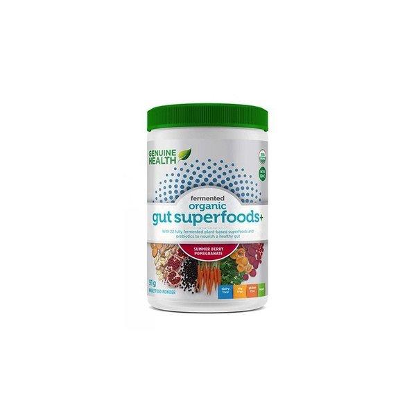 Genuine Health Genuine Health Fermented Organic Gut Superfoods Summer Berry-Pomegrante 91g