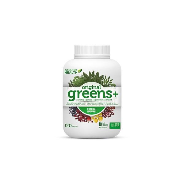 Genuine Health Genuine Health Greens+ 120 caps