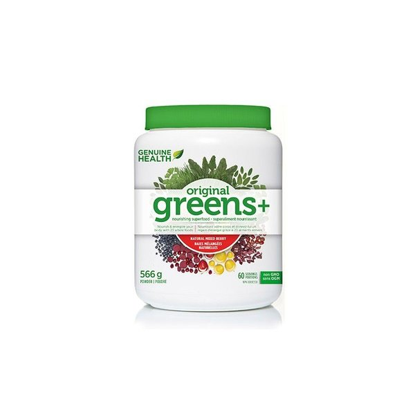 Genuine Health Genuine Health Greens+ Mixed Berry 566g
