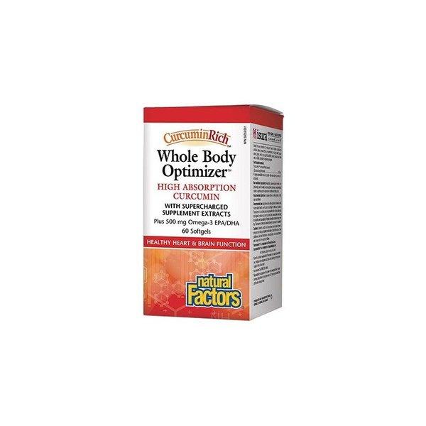 Natural Factors Natural Factors Whole Body Optimizer 60 softgels