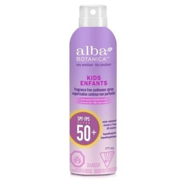 Alba Botanica Alba Kids Sunscreen Spray SPF 50 177ml