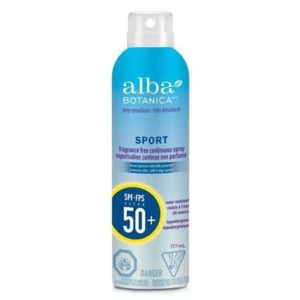 Alba Botanica Alba Sport Sunscreen Spray SPF 50 177ml