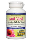 Natural Factors Natural Factors Echinamide Anti-Viral 60 softgels