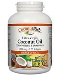 Natural Factors Natural Factors Org. Coconut Oil 120 softgels