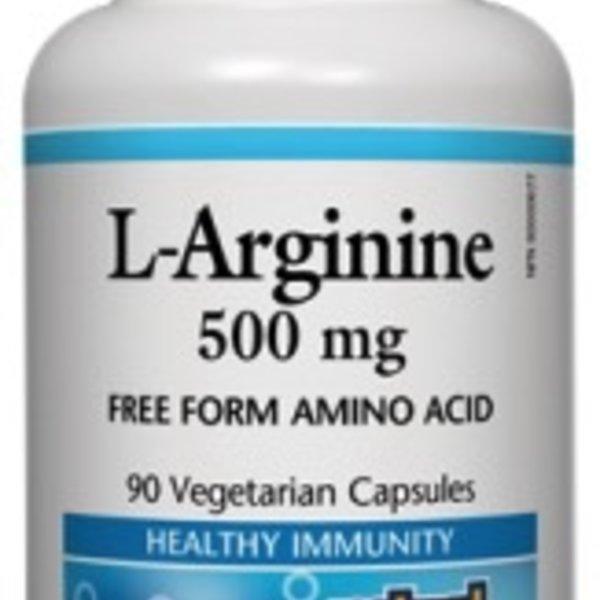 Natural Factors Natural Factors L-Arginine 500 mg 90 vcaps