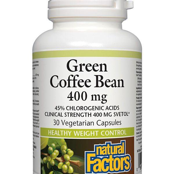 Natural Factors Natural Factors Green Coffee Bean 400mg 30 vcaps