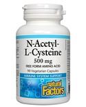 Natural Factors Natural Factors NAC 500 mg 90 vcaps