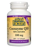 Natural Factors Natural Factors BONUS Coenzyme Q10 100mg 150 softgels
