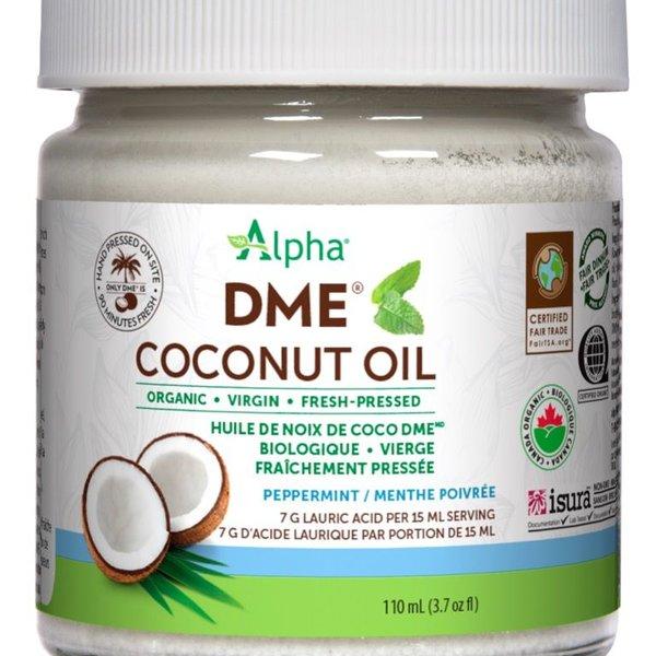 Alpha Alpha DME Virgin Coconut Oil 110 ml Peppermint