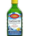 Carlson Carlson Cod Liver Oil 250ml Lemon