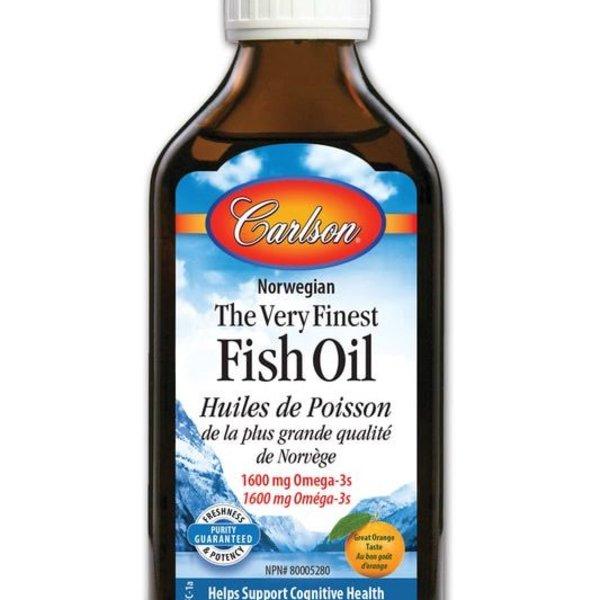 Carlson Carlson Fish Oil 200 ml Orange