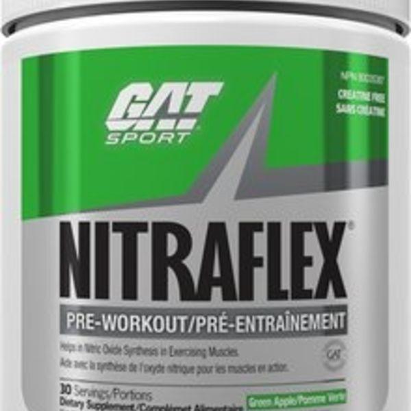 GAT GAT Nitraflex Green Apple 300g