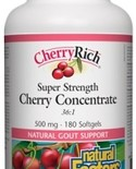 Natural Factors Natural Factors CherryRich Super Strength Cherry Concentrate 500mg 180 softgels