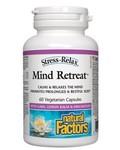 Natural Factors Natural Factors Stress-Relax Mind Retreat 60 caps