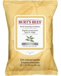 Burts Bees Burts Bees White Tea Face Wipes 30's