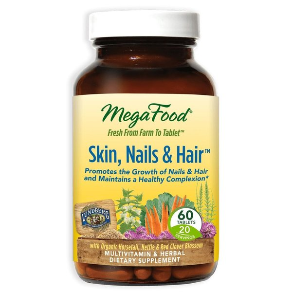 MegaFood MegaFood Skin Hair & Nails DailyFoods 60 tabs