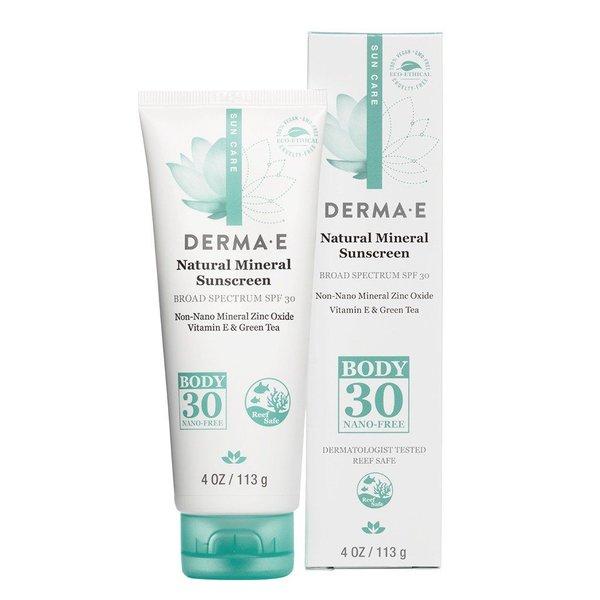 Derma E Derma E SPF 30 Natural Mineral Body Sunscreen 113g