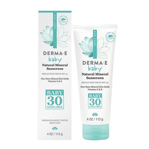 Derma E Derma E SPF 30 Natural Mineral Baby Suncreen 113g
