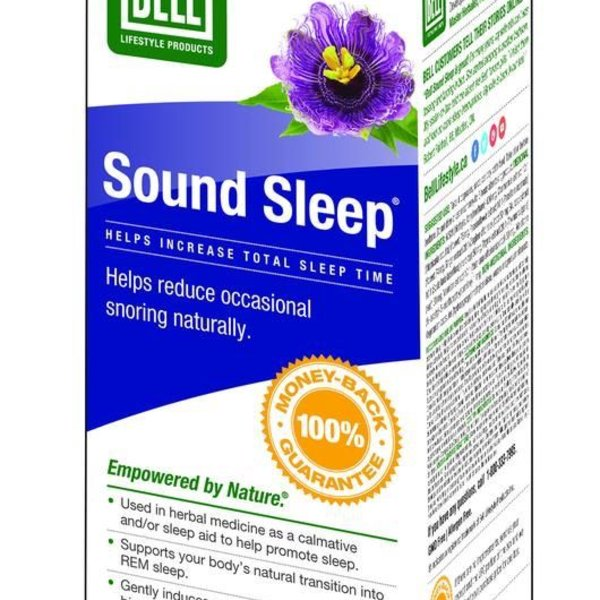 Bell Lifestyle Bell Sound Sleep 750mg 60 caps