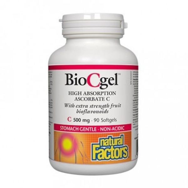 Natural Factors Natural Factors BioCgel 500mg 90 softgels