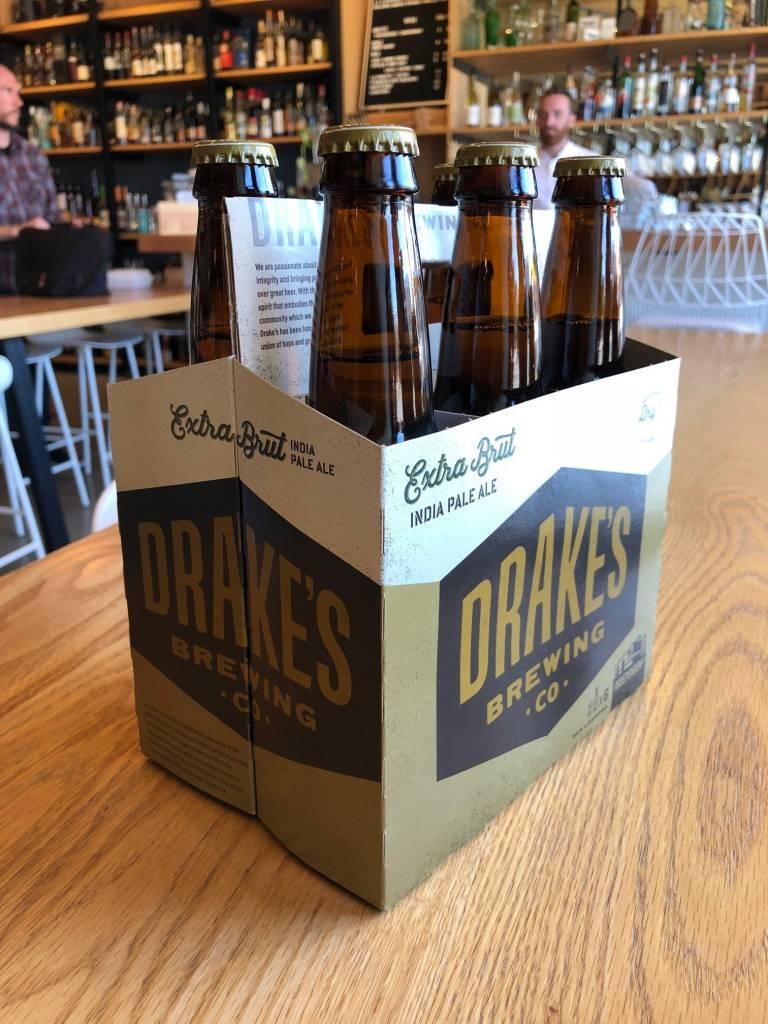 Drake's Brewing Drake's Brewing Brightside Extra Brut IPA 12oz 6pk