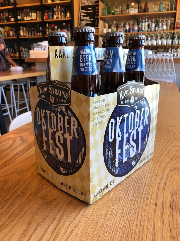 Karl Strauss Karl Strauss Brewing Oktoberfest 12oz 6pk