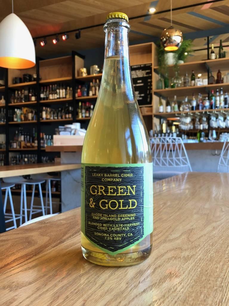 Leaky Barrel Leaky Barrel Green & Gold Cider 750ml