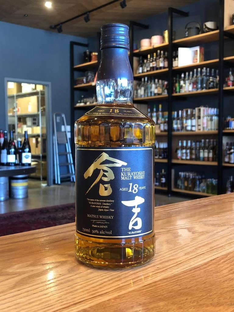 Kurayoshi The Kurayoshi Japanese Malt Whisky 18 Year 750ml