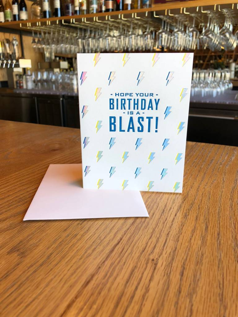 Lightning Rad Birthday Elum Greeting Card