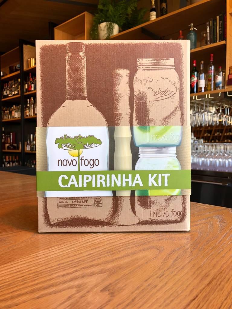 Novo Fogo Novo Fogo Cachaça Silver Caipirinha Kit 750mL