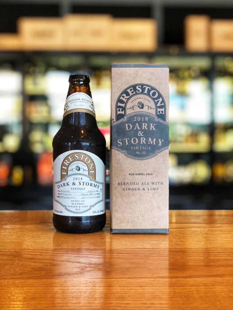 Firestone Walker Brewing Firestone Walker Dark & Stormy Barrel-Aged 12oz
