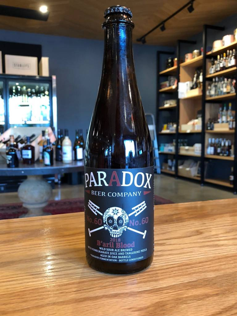 "Paradox Beer Company Paradox Skully #60 ""B'aril Blood"" 500mL"